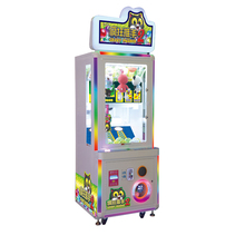 Muntautomaat geluk vaardigheid machine prijs/Crazy Pusher 2 game machine/loterij bal machine