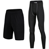 soft elastic Compression Dry Cool GYM Sports Tights Pants Baselayer Running yoga Leggings for men