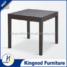 Good quality and square plastic dining tables and chairs