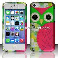 Unique&Beautiful OWL Mobile Phone Covers Design for Iphone 5C made in China