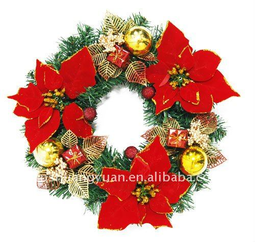 christmas door decorative garland