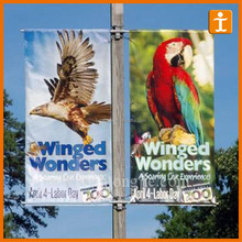 Custom Full Colour Print Outdoor Street Light Pole Banners