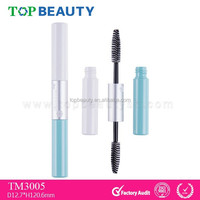 TM3005-1 Wholesale Two Heads Custom Empty Plastic Mascara Container