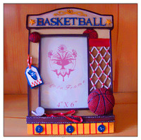 china factory ODM & OEM fashion polyresin basketball photo frame