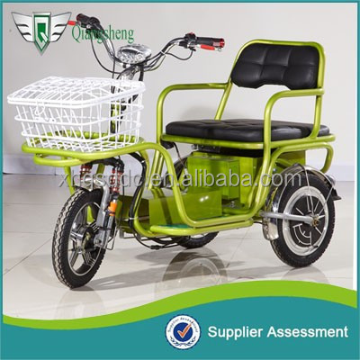 Elder fashion mini electric tricycle for 1 passenger