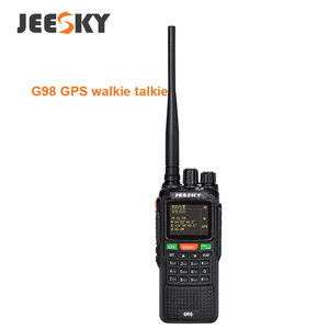 New launch JEESKY G98 10W 999CH GPS dual band 2 way handheld radio