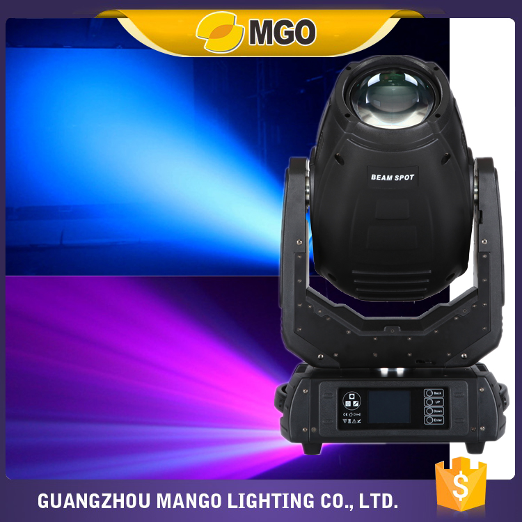 280w 10R Moving Head Light Beam Spot Wash 3in1 Rotating Prism