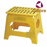 Bathroom Cheap Step Foldable Plastic Rolling Step Stool