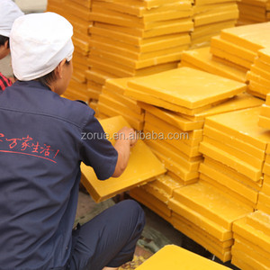 Wholesale natural pure yellow beeswax