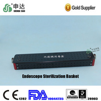 The most favorable Chinese surgical instruments Black Small Endoscope Sterilization Basket