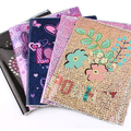 Offered a variety of patterns PVC and PP book cover Clear Book Cover
