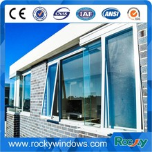 Rocky aluminium glazing channel window