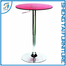 Night club acrylic bar table furniture for sale