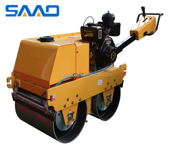 High quality hot sale walk-behind variable speed vibration road roller machine(SYLJ-S600C)