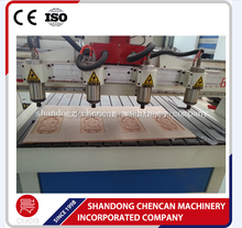 multi spindle 3d wood carving cnc router machine 1530