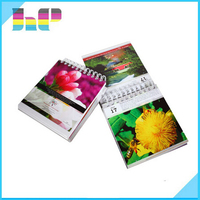 Printing 2016 2017 Desktop Plastic Diamonds Perpetual Digital Calendar