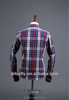 good quality slim fit men shirt camisa pleat on back Foundryequipment