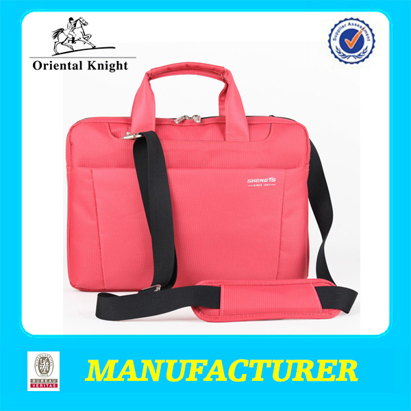 durable nylon waterproof pink laptop case wholesale on alibaba