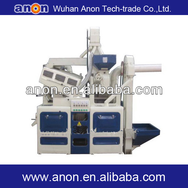 ANON automatic integrated rice milling unit