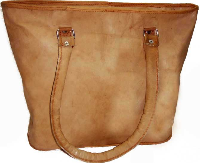Hand Crafted Genuine Leather Ladies Tote Bags and Handbags