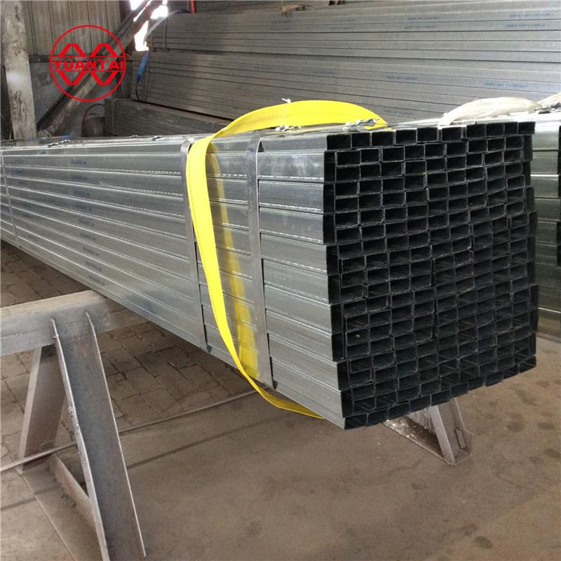 construction fence thin thickness wall pre galvanized square pipe manufacturers of china