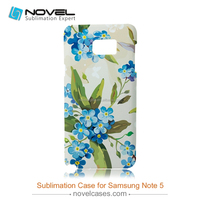 3D Sublimation phone case for printing-New Arrival for samsung galaxy note 5, customized full-printig phone cover