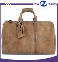 Fashion mens travel document bag good quality fast delivery men travel handbag leather travel bag