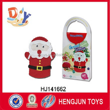 EN71 promotion DIY craft toy cloth Santa Claus for Christmas toy