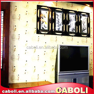 Caboli removable decorative wooden wall paint