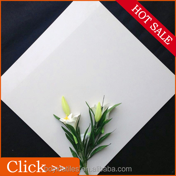 Cheap Super White Porcellanato Decoration Floor Tiles Images 60x60