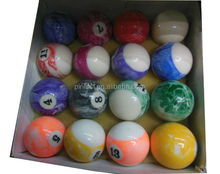New Cyclop Phenolic Resin Pool Billiard Ball Set- TV Skittles Easter Egg Colors