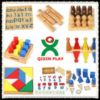 Preschool Educational Material Montessori Wooden Toys