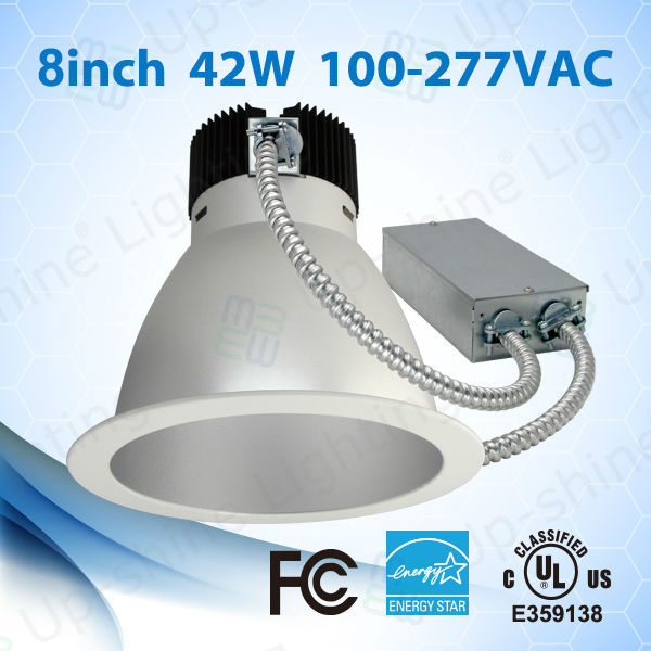 LED industrial downlight 8inch 42W COB LED Chip UL ES approved