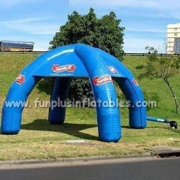 inflateble dome,inflatable tent as a car park P2009