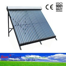 2014 Latest Vertical Type Solar Water Heater Collector with ETC 581800mm Solar Vacuum Tubes