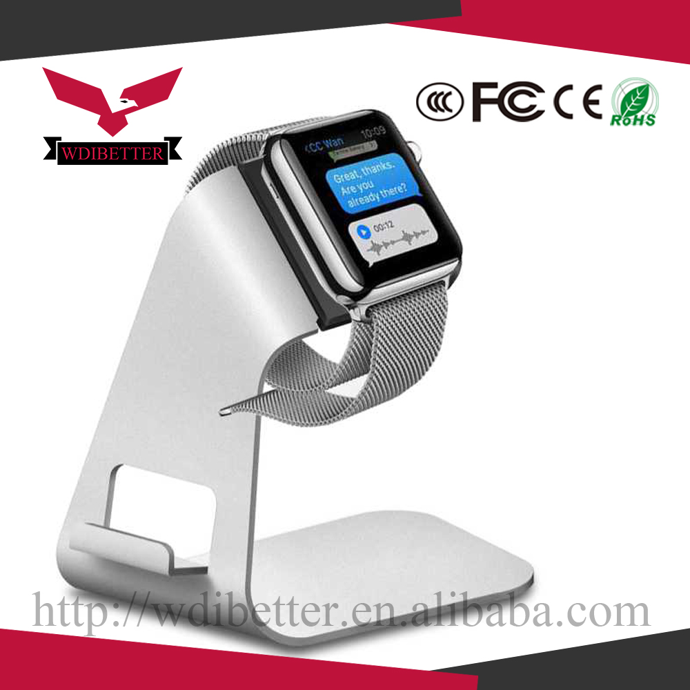 2 In 1 Charging Docking Station Charger Stand Holder Cradles for Apple Watch for Mobile Phone
