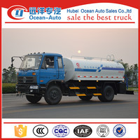 Dongfeng 10cbm 10000 liter water tank truck for sale