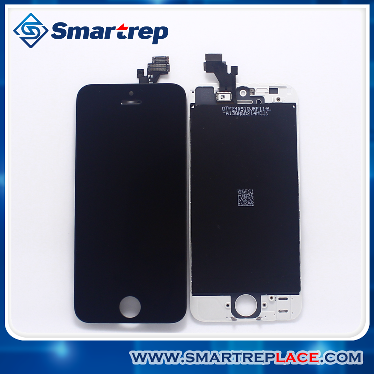 Wholesale white/ black LCD for iphone 5 5G display assembly Repair Part