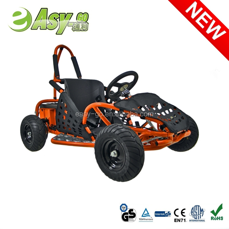 2016 easy-go 1000w 48V/12ah go kart 200cc honda engine with wet clutch past CE certificate