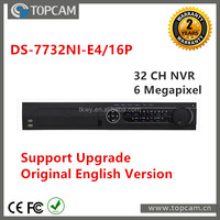 Original English Version Onvif NVR Software POE NVR 32 Channel NVR DS-7732NI-E4/16P Network Video Recorder