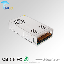 Hot selling! high quality JAH 300W AC/DC LED switching power supply /12V 25A non-waterproof power supply