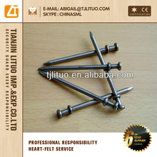 iron wire electric galvanized zinc duplex head nails
