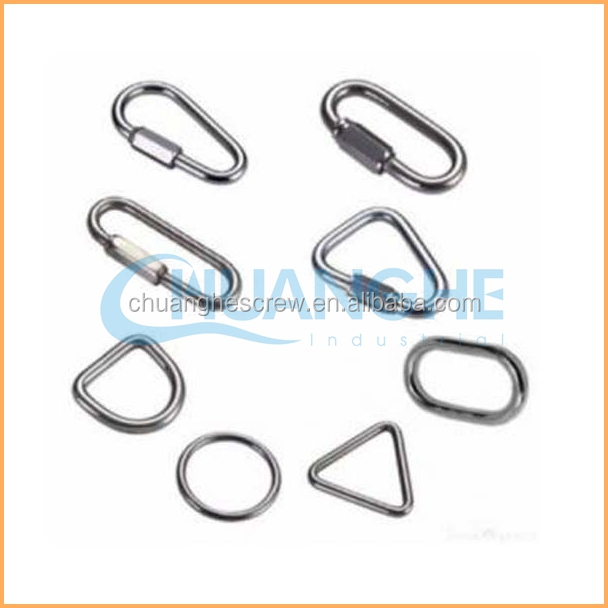 Factory Hot Selling snap d ring stainless steel hook hanging key hooks