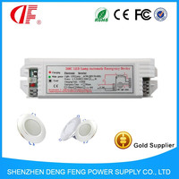 Emergency light power pack for LED down light and spotlight down power to 3W 3Hours emergency light