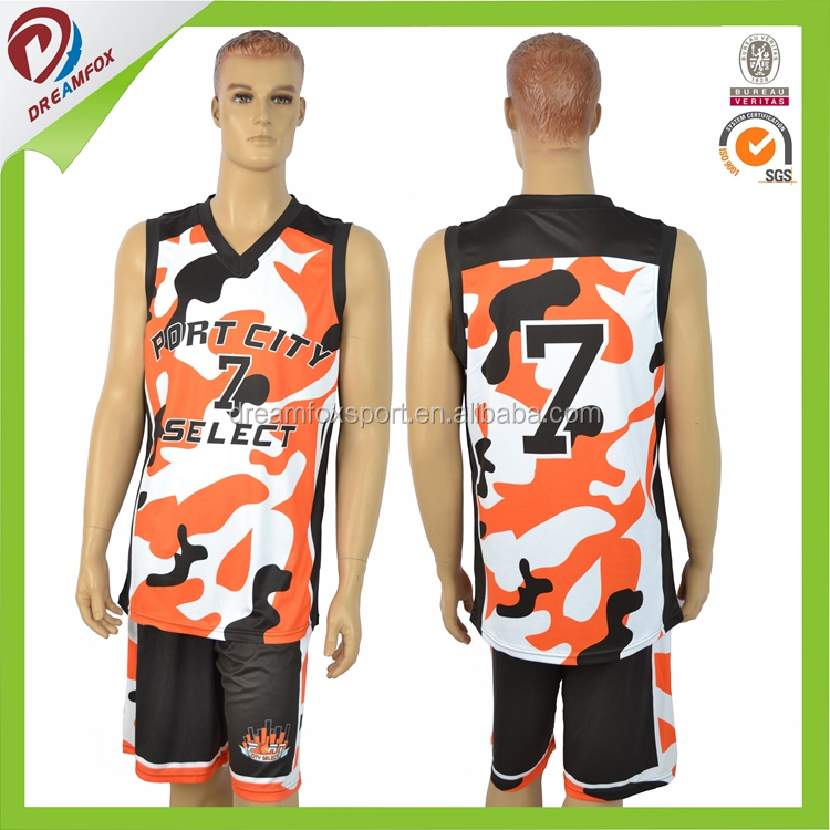 custom basketball jersey uniform design color yellow in 2017 any sizes