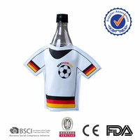 2017 Shanghai factory polo shirt jersey new items beer wine water gel bottle cooler bag football soccer fashion