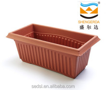 HG-2013 rectangle clay garden corn big planter