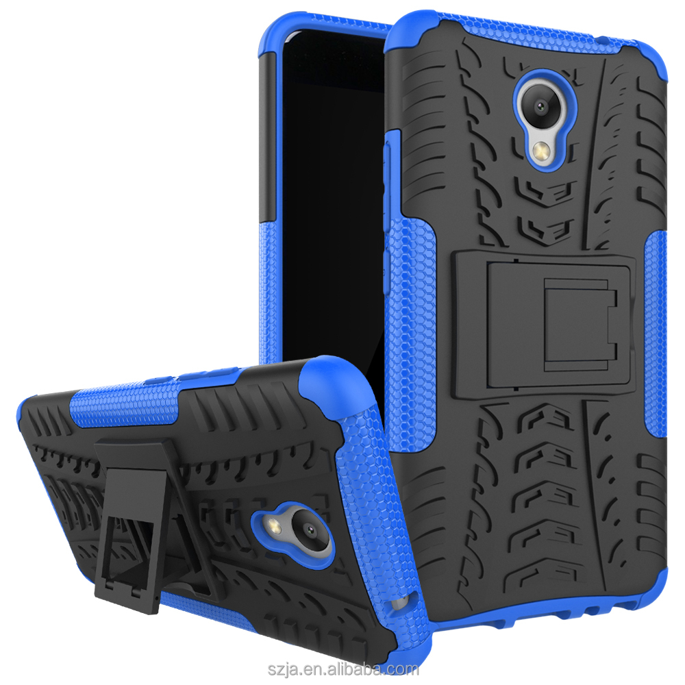 2 in 1 Heavy Duty Tough Rugged Armor for meizu Charm blue 5 Combo Silicon PC Case for Meizu blue 5