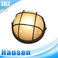 European aluminum waterproof wall mount bulkhead light fitting