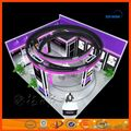 China Design & customize reusable Eco-Friendly Portable exhibition booth design and exhibition equipment for Tradeshow